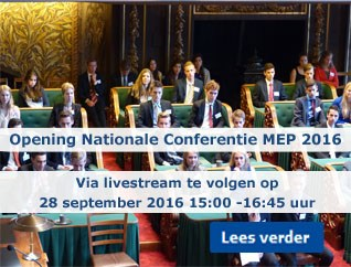 Opening nationale MEP-conferentie 2016 live te volgen